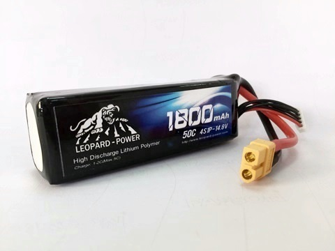 Leopard Power 1800mAh 50C 4S 14