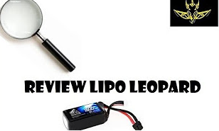 Good review of Leopard Power 1500mAh 95C 4S FPV drone racing