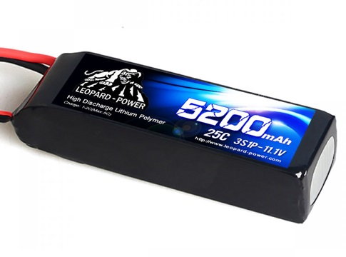 Leopard Power 5200mAh 25C 3S 11
