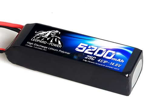 Leopard Power 5200mAh 25C 4S 14