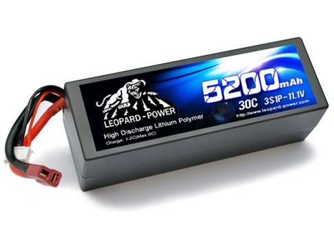 Leopard Power 5200mAh 30C 3S1P