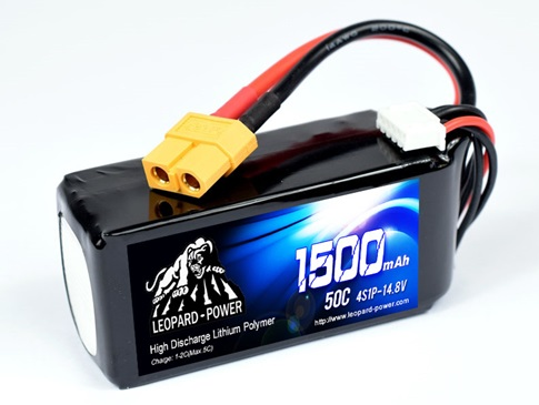 Leopard Power 1500mAh 50C 4S 14